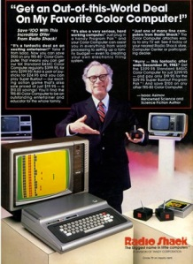 Isaac Asimov's RadioShack Ad